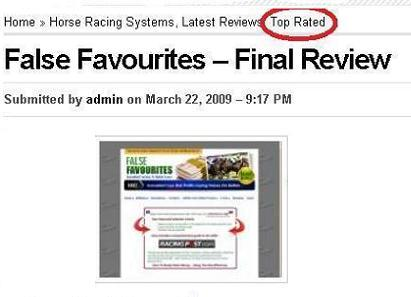 Horse racing system, betting systems, make money online